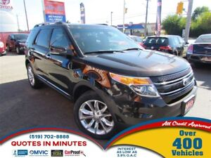 2013 Ford Explorer Limited | LEATHER | NAV | AWD | ROOF | CAM