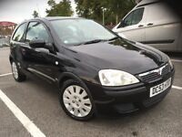 04 VAUXHALL CORSA 1.2 ACTIVE 3 DR BLACK MET DRIVES AND LOOKS GREAT