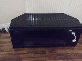 Corner TV Cabinet Gloss Black