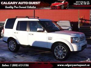 2012 Land Rover LR4 HSE 4WD/NAVI/3RD ROW/LEATHER/SUNROOF