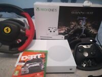 Xbox one s like new used once