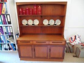 1960's 1970's Retro VINTAGE G PLAN TEAK DRESSER Fresco Sideboard TV unit Shelf