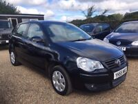 VOLKSWAGEN POLO 1.4 S HATCHBACK 5DR 2005*IDEAL FIRST CAR*CHEAP INSUR *EXCELLENT CONDITION*HPI CLEAR