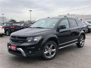 2017 Dodge Journey CROSSROAD**LEATHER**DVD**7 PASSENGER**SUNROOF