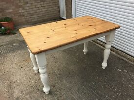 Shabby Chic Pine Dining Table