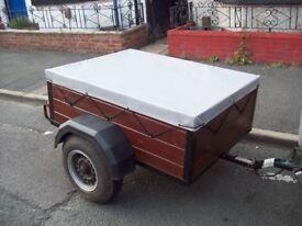 box trailer 4ft x 3ft