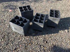 116 Plantpak seed/seedling trays. Mostly unused