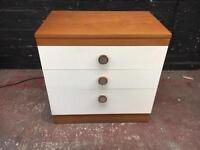Fabulous quality vintage three drawer chest