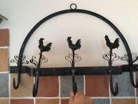 Shabby Chic/Vintage/Farmhouse style kitchen wall utensil hooks