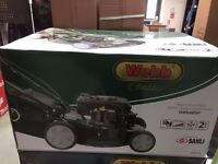 "Webb Petrol Lawnmower - 18"" Metal Body - Self-propelled - 135cc"