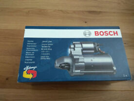 Bosch Starter Motor Sealed