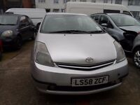 TOYOTA PRIUS one year MOT **LPG FITTED** SILVER HATCHBACK IN GREAT CONDITION
