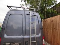 has new roof rack plus ladder can deliver for cost of fuel