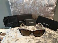Authentic designer Dolce & Gabbana sunglasses
