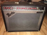Fender Amp Stage 185 RED KNOB Guitar unique Amplifier full working order+ FOOT SWITCH can deliver
