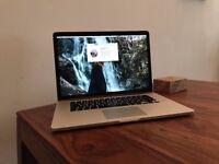 Apple Macbook Pro, 2013, 15inch, i7, 500gb SSD, 8gb RAM