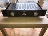 Amplifier - Alesis RA150 2 channel power amplifier