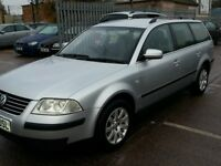 VW PASSAT ESTATE 52 REG SERVICE HISTORY 12 STAMPS ALLOYS
