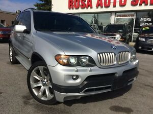 2006 BMW X5 AUTO AWD 4.8is NAVIGATION,DVD,PANORAMIC ROOF