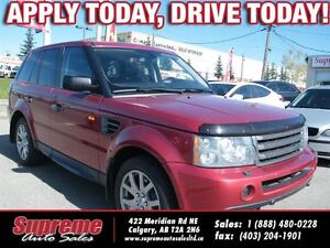 2007 Land Rover Range Rover Sport HSE w/NAVI/S.ROOF/H.EATS/LEATH