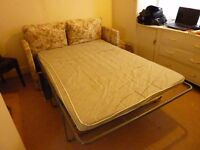 Small double sofa bed needs a bit of tlc