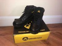 Steel Toe Cap Boots, Size 7 *Like New*