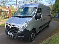 "2013 Vauxhall Movano 2.3 CDTi L2H2 MWB PANEL VAN 1 Owner Full Dealer SH 1 Year MOT HPI ""NO VAT"""