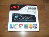 JVC KD-R871 BT Car Stereo with CD Receiver
