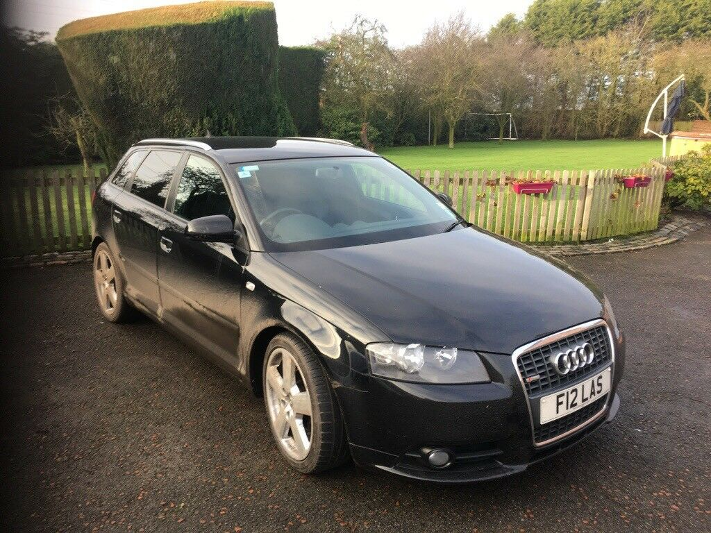 audi a3 s line 5 door in lymm cheshire gumtree. Black Bedroom Furniture Sets. Home Design Ideas