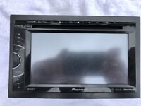 pioneer avh-x3500dab car stereo, double din, ipod, usb, dvd player