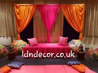 Mehndi decorations from £225