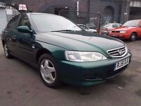 2001 HONDA ACCORD 2.0 VTECH..LONG MOT..LOW MILES..CLEAN CAR