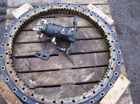 Hydraulic turntable