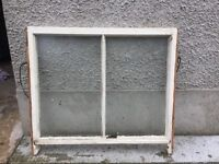 Victorian Sash windows with original catches and glass