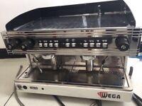 WEGA Double Espresso Coffee Machine to sale!