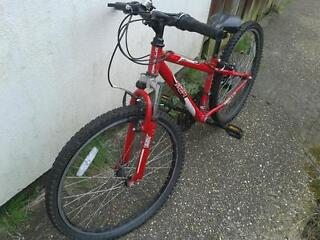 Used, Junior Bike, Red