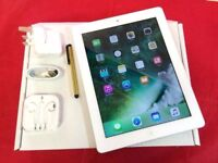 Apple iPad 4 128GB WiFi + Cellular, White, +WARRANTY, NO OFFERS