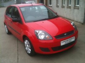 07 PLATE FORD FIESTA 1.2 STYLE 5DR 31000MILES FSH £2975