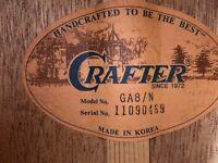 Acoustic Crafter guitar GA 8