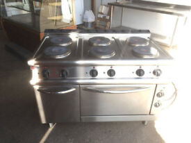 Baron 6 Burner Ring Commercial Oven