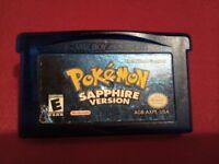 Pokemon Saphire version