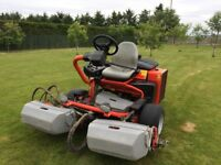 2008 Ransomes Jacobsen G-plex 3 Cylinder 3 Gang Lawn Mower powered by Kubota diesel engine
