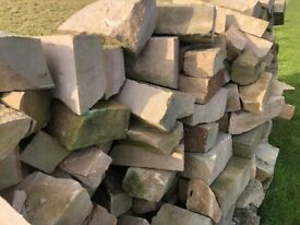 4.8T of Clashach Stone Walling.