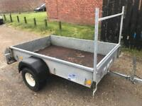 Ifor Williams p6E trailer (flotation wheels)
