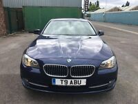 BMW 5 Series 2.0 520d SE 4dr 2011 (11 reg), Saloon HPI CLEAR WARRANTED MILES