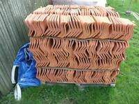 pantiles, new OLD ENGLISH pan tiles, NEW pan-tiles and recycled bricks , 0.65p each