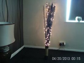 BLACK WOOD LED LIGHT ...
