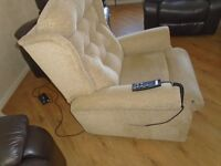 Celebrity high rise recliner Dual Motor Chair