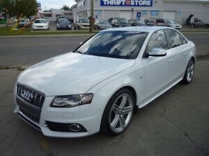 2012 Audi S4 3.0 SUPERCHARGED/LEATHER/ALLOYS/DRIVE SELECT