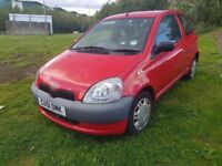 TOYOTA YARIS 1.0 EXCELLENT CONDITION ( ANY OLD CAR PX WELCOME ) SMOOTH ENGINE AND GEARBOX